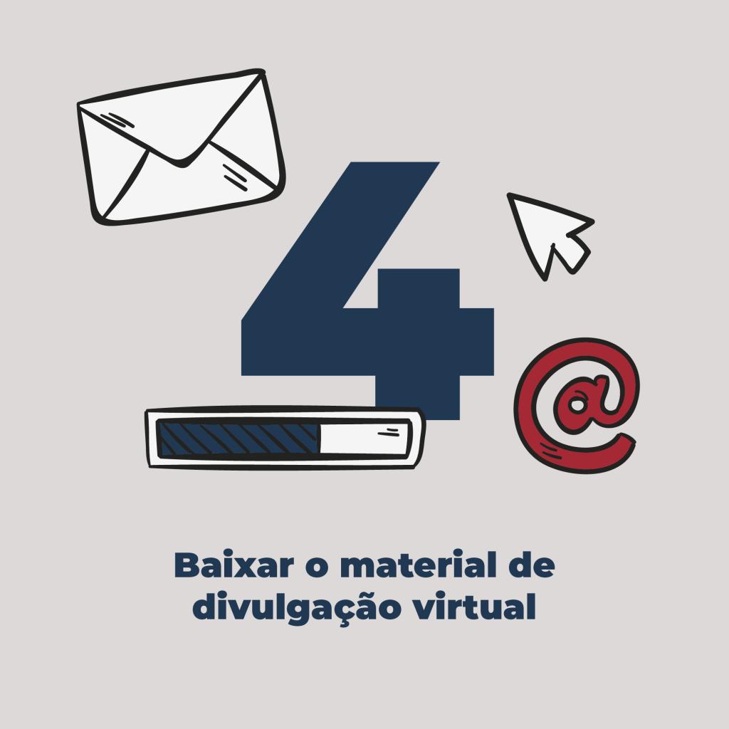 04 - Baixar o material de divulgação virtual