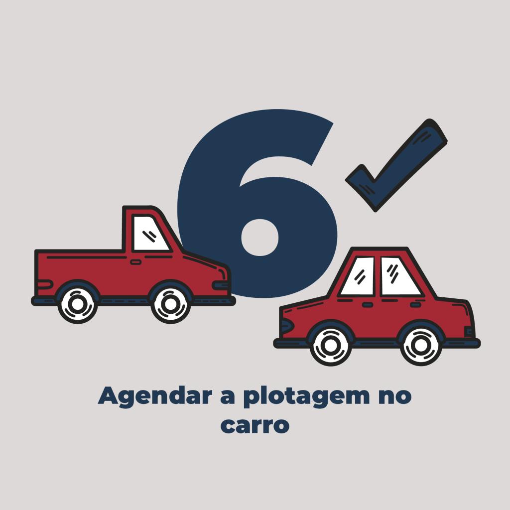06 - Agendar a plotagem no carro