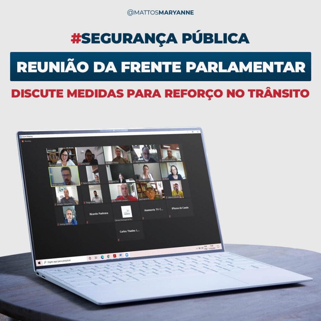 #Segurança Pública - Primeira Reunião Frente Parlamentar de Segurança Pública - Maryanne Mattos