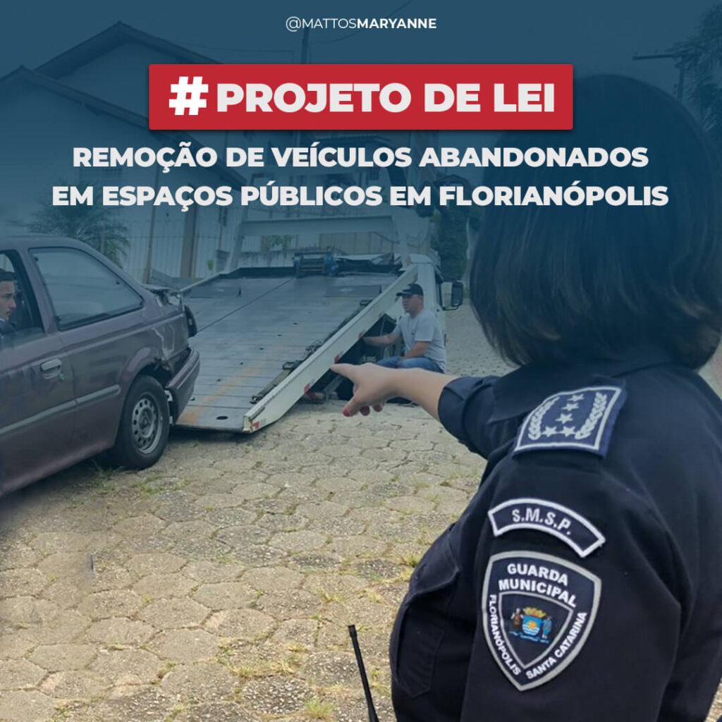 Projeto para remover veículos abandonados das ruas é protocolado na Câmara de Florianópolis