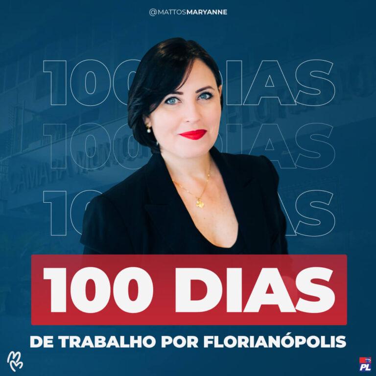 Maryanne Mattos - 100 dias de trabalho por florianópolis