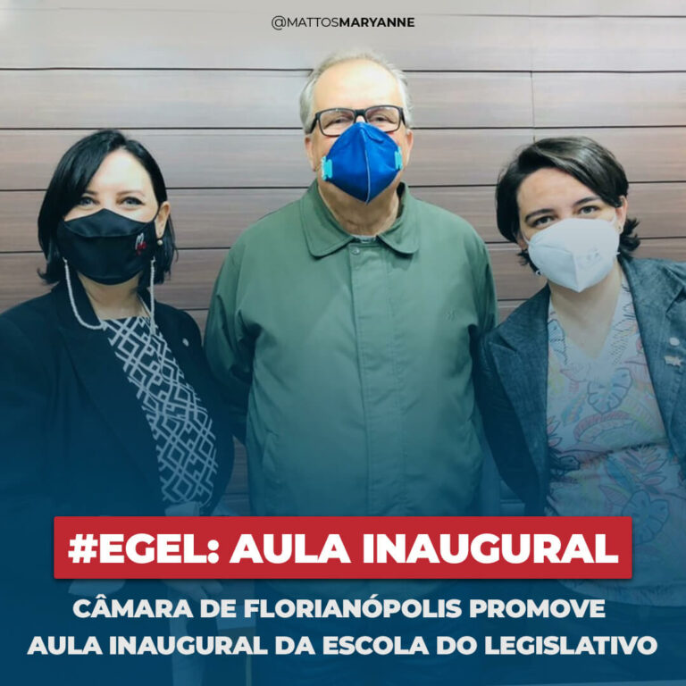 EGEL - Aula Inaugural - Maryanne Mattos | Florianópolis
